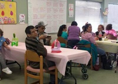 Elder care Easter party AlamoCare