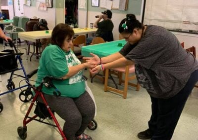 Assisted living recreation